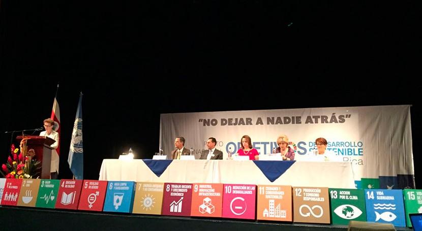 Costa Rica, pionera comprometerse Objetivos Desarrollo Sostenible