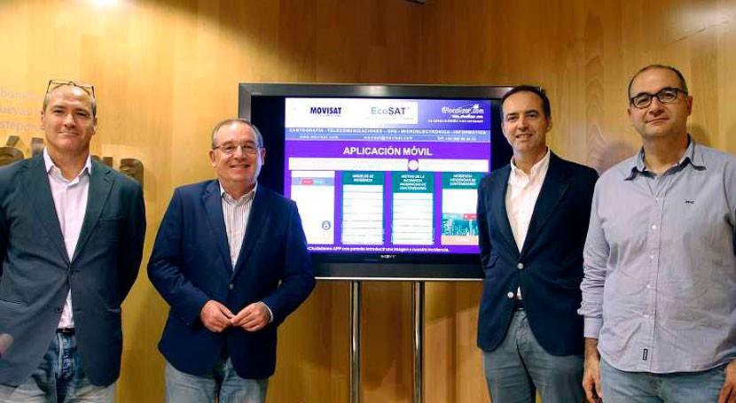 portal EcoCiudadano permitirá alertar cualquier incidencia vía pública Málaga
