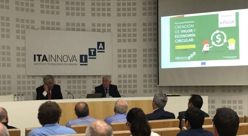 economía circular y creación valor, debate Aragón