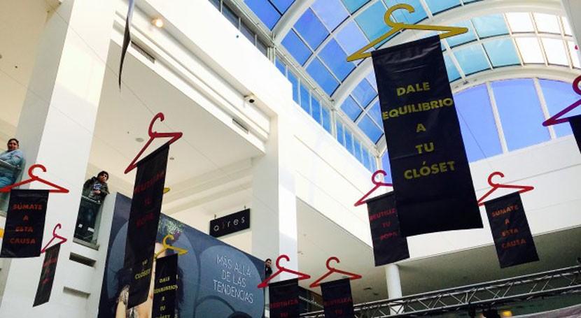 Tienda Vacía: Chile promueve reciclaje través reutilización ropa