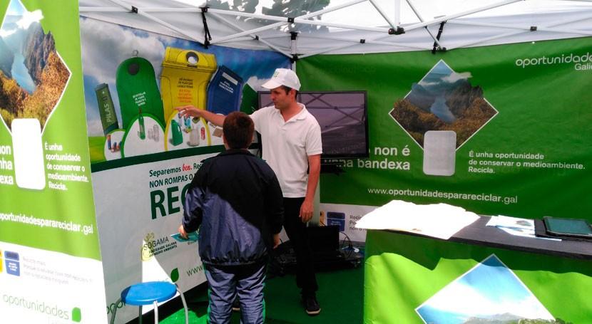 campaña reciclaje autonómica continúa trayectoria Ourense