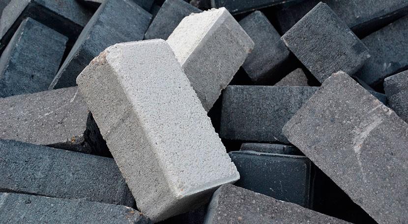 desechos minerales fabricación cemento, estudio
