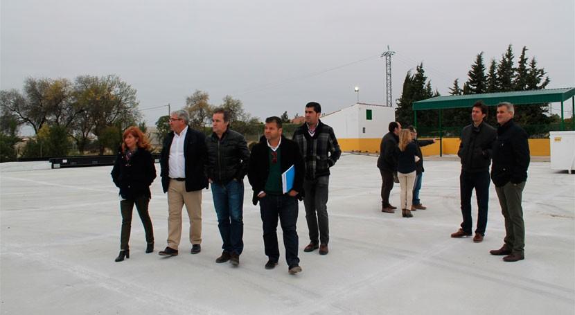 nueva planta tratamiento escombros comarca Loma costará 364.000 euros