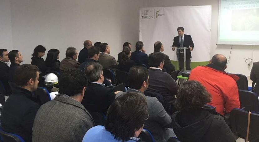 planta Jaén-Sierra Sur se automatiza duplicar toneladas material recuperado