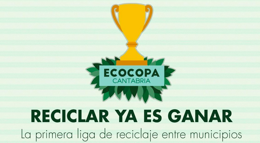 San Miguel Aguayo gana liga Ecocopa, competición que fomenta reciclaje municipios