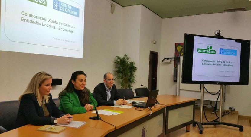 Gobierno gallego anima ayuntamientos fomentar iniciativas que incrementen reciclaje