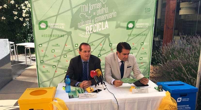 Castilla y León y Ecoembes promueven reciclaje envases Camino Santiago