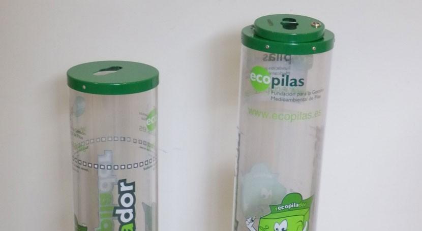 centros educativos españoles reciclan 33.377 kilos pilas 2016