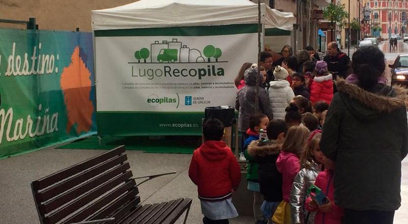 """campaña """"Lugo Recopila"""" arranca Foz y llegará 35 municipios provincia"""