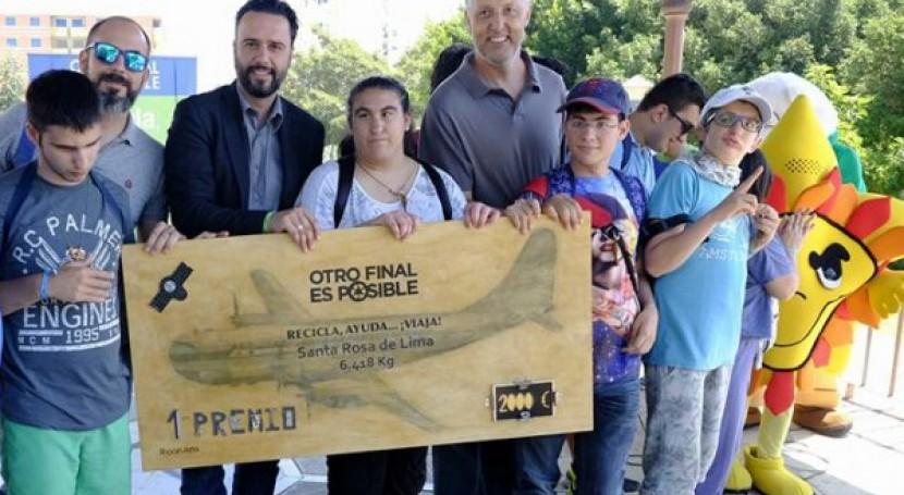 """campaña reciclaje """"Otro Final es Posible"""" Málaga concluye 29.871 kilogramos RAEE"""