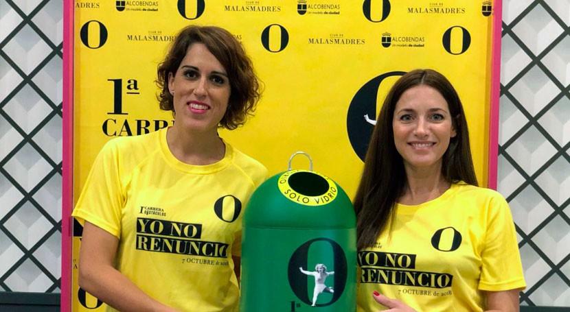 """carrera """"Yo No Renuncio"""" sensibiliza coeducación sostenibilidad y reciclaje"""