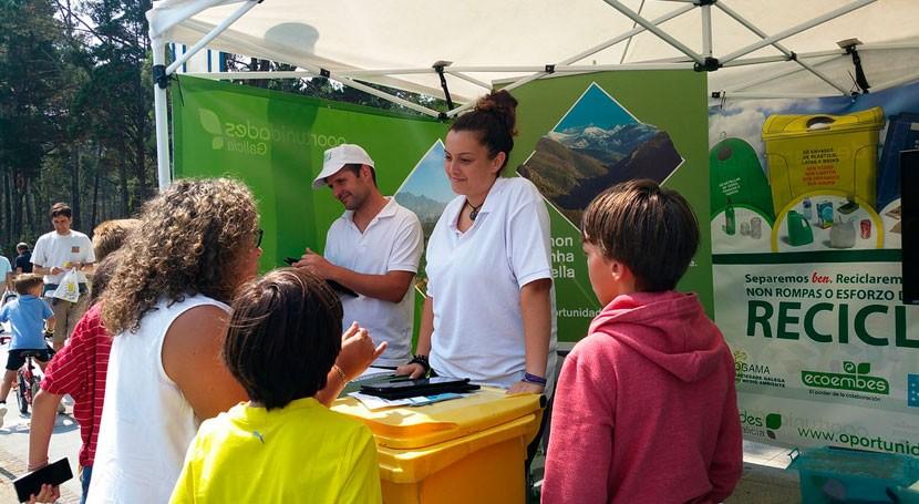 aula móvil reciclaje llega O Barco Valdeorras