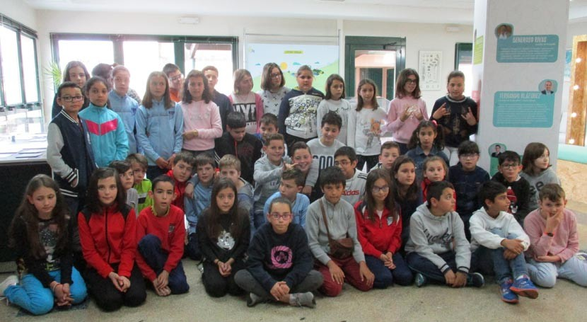 """colegio """"Eloísa Rivadulla"""" Chantada anima ciudadanos practicar tres erres"""