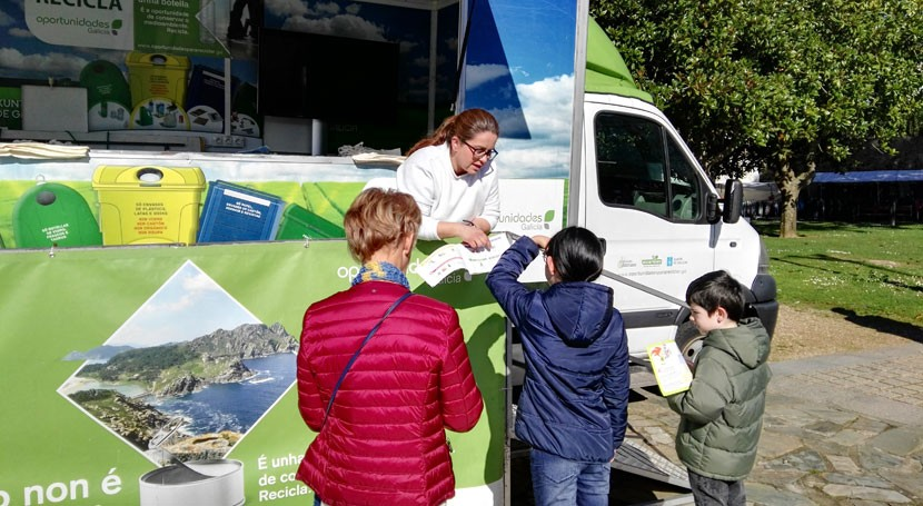 Redondela, próximo destino campaña gallega reciclaje