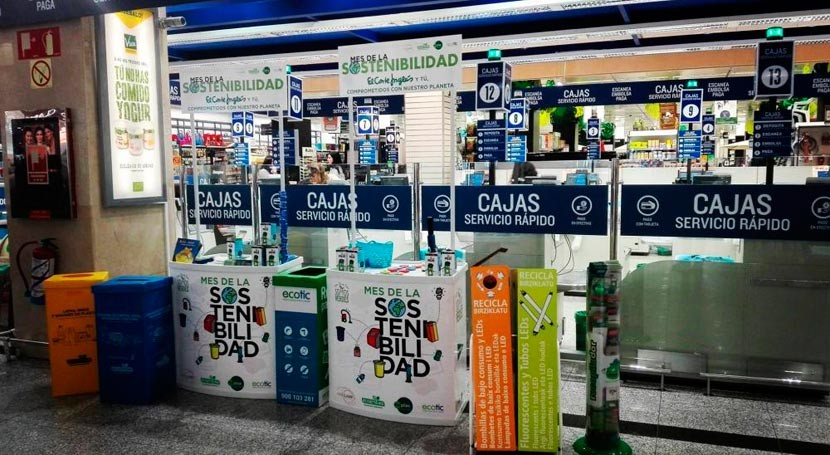 Corte Inglés apuesta concienciar gestión residuos Mes Sostenibilidad