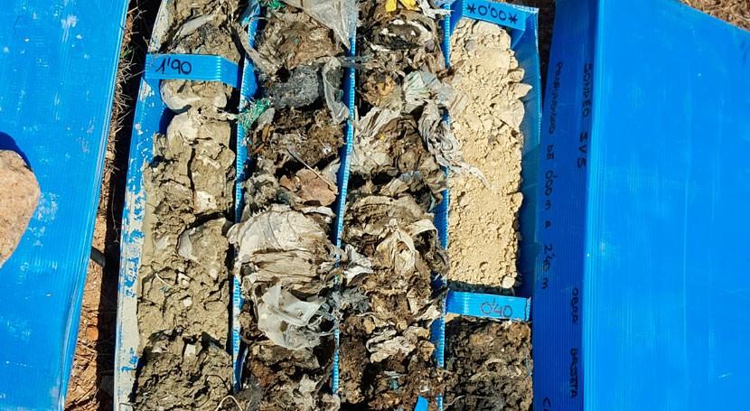 Comienzan trabajos previos sellado vertedero Basseta Blanca Riba-roja Túria