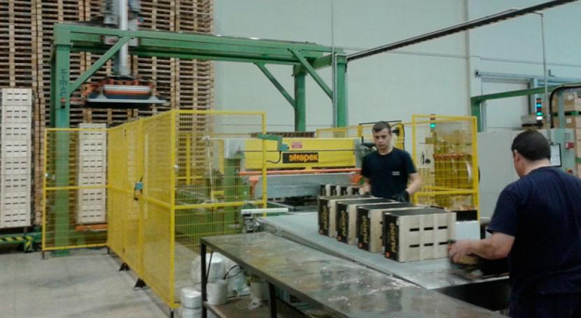 sector envase, embalaje y palet madera da empleo 8.000 personas España