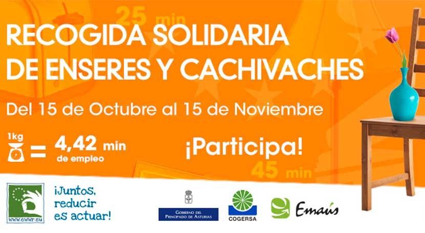 Recogida enseres y cachivaches Asturias Semana Europea Prevención Residuos