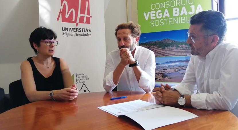 Consorcio Vega Baja Sostenible otorga beca máster gestión residuos UMH