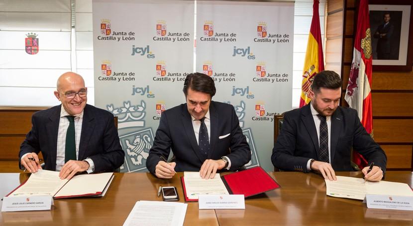 Firmado acuerdo sellar y restaurar todas escombreras Valladolid