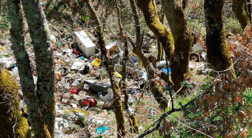 mayor parte espacios naturales España están afectados contaminación difusa