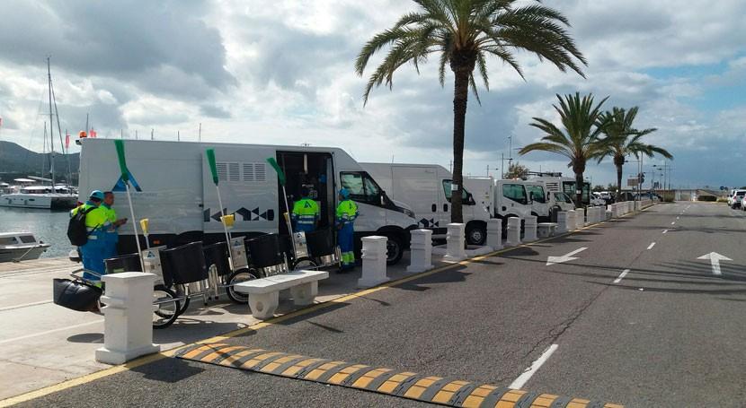 FCC se adjudica nuevo recogida residuos y limpieza viaria Sant Antoni Portmany