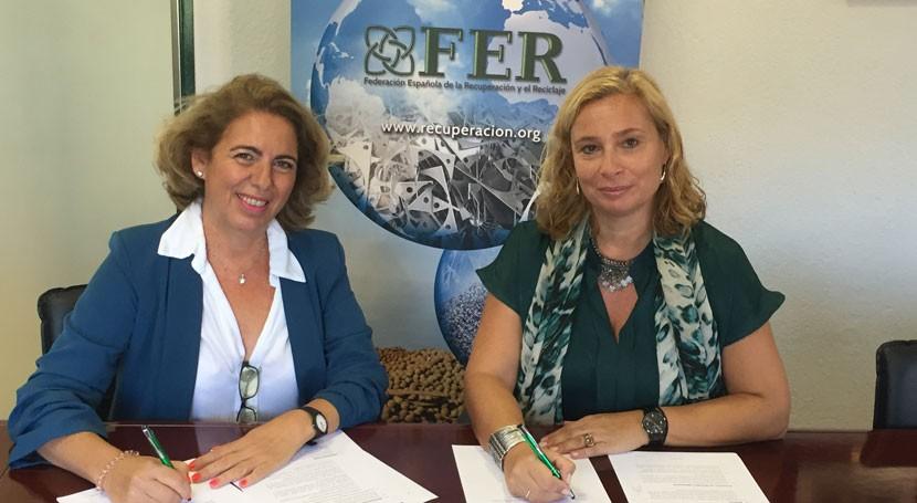 FER y AENOR firman acuerdo colaboración fomentar formación asociados