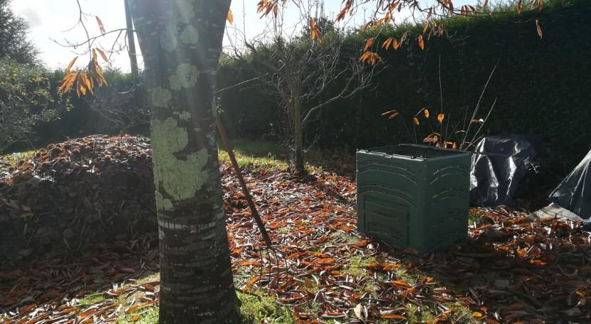 Sogama ha repartido Galicia más 10.300 compostadores domésticos