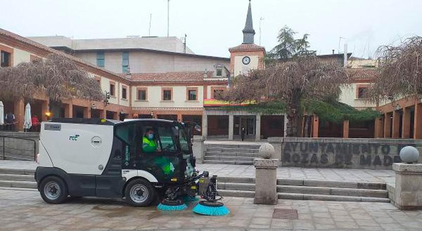 FCC, adjudicataria nuevo contrato recogida residuos y limpieza urbana Rozas