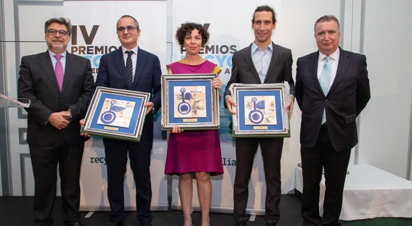 Recyclia entrega cuartos premios anuales medio ambiente