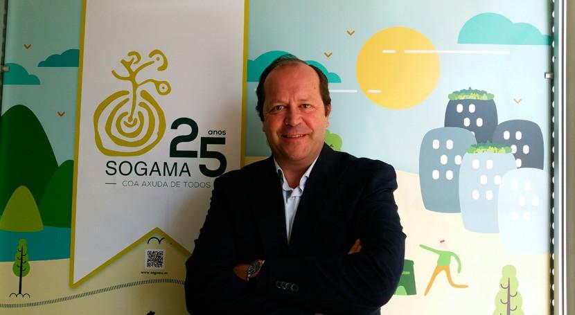 """""""Sogama ha sido empresas líderes regeneración ambiental Galicia"""""""
