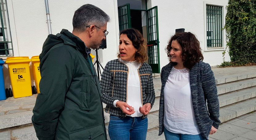reciclaje llega centros escolares Córdoba