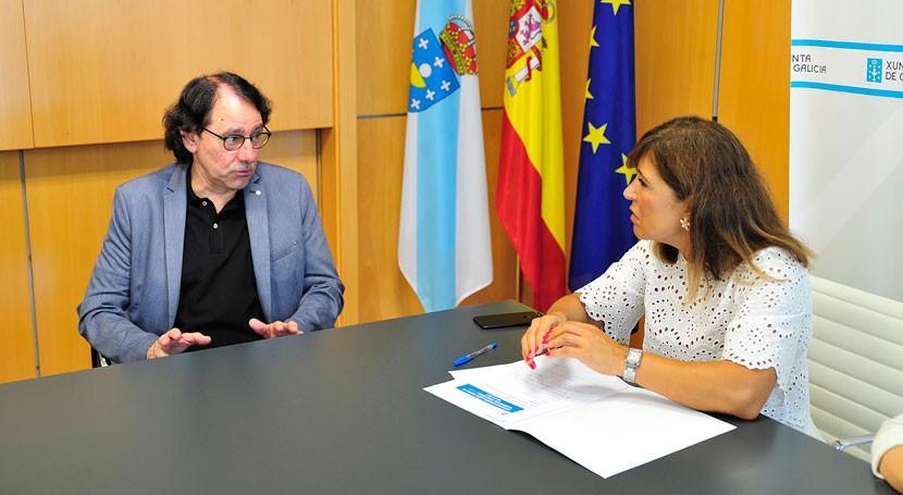 Galicia colabora comerciantes coruñeses mejorar gestión residuos
