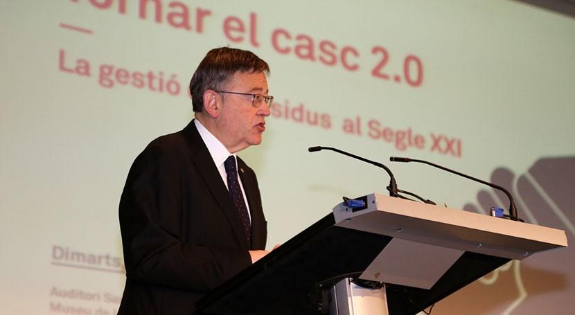 Gobierno valenciano aboga diálogo establecer nuevo modelo gestión residuos