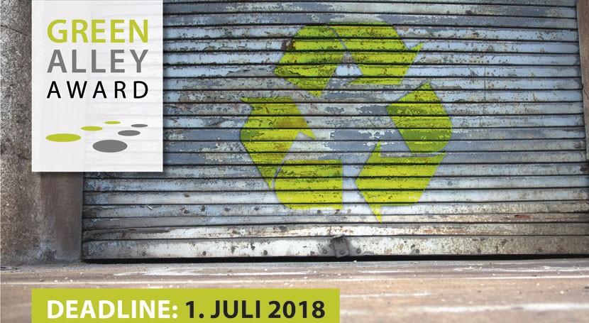 start-ups orientadas economía circular ya pueden presentarse Premios Green Alley