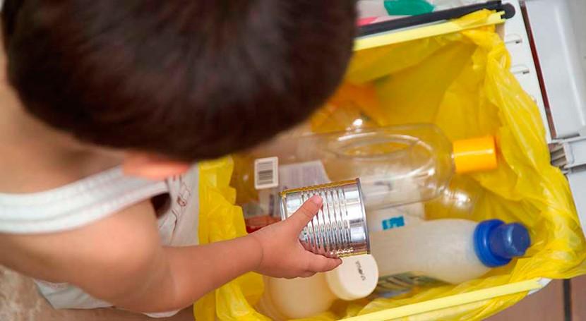 Más 70% españoles dispone hogar más espacio separar residuos