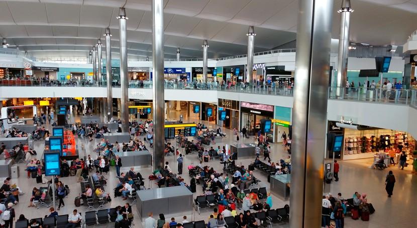 Heathrow lanza nueva prueba mejorar porcentajes reciclaje aeropuertos