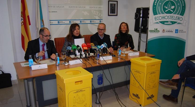 30 ayuntamientos gallegos fomentarán reciclaje envases sector hostelería