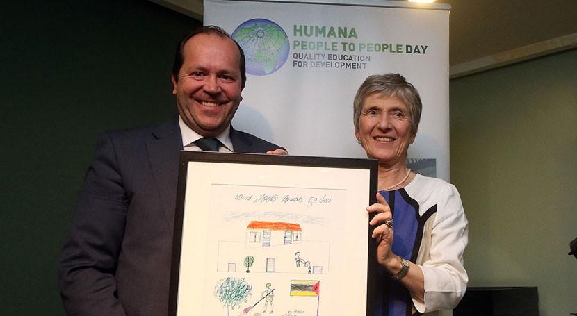 Humana premia Sogama sensibilización defensa valores medioambientales
