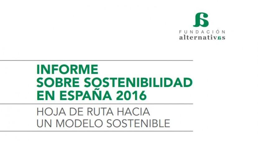 Fundación Alternativas, apoyo Ecoembes, presenta Informe Sostenibilidad 2016