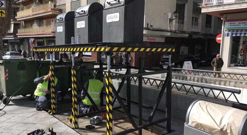 Jaén mejora contenedores soterrados Alcalá Real