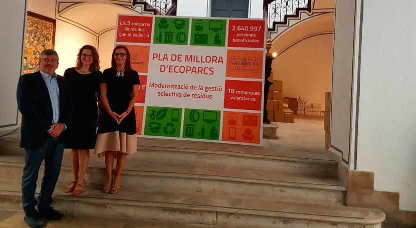 Gobierno valenciano presenta inversiones consorcios residuos