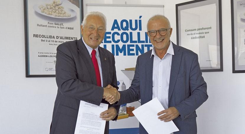 IRTA y Banc dels Aliments Barcelona colaborarán desperdicio alimentario