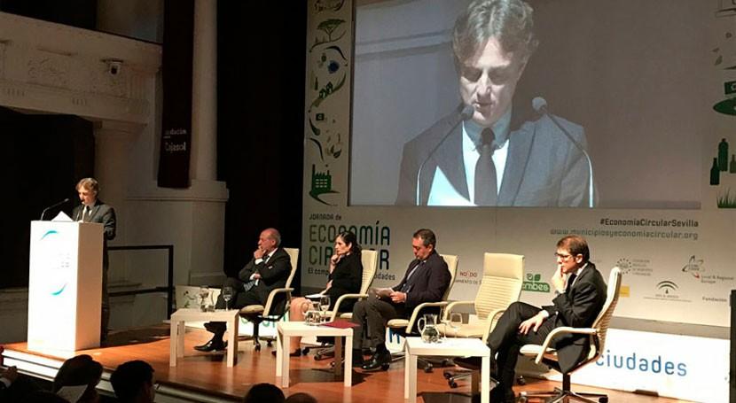 """José Fiscal: """" materia economía circular, Andalucía es regiones más aventajadas"""""""