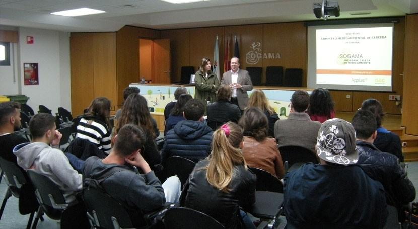 """Jóvenes Sicilia visitan Sogama marco programa """" xuventude no mundo"""""""