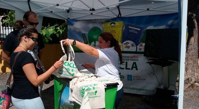 """""""Oportunidades"""" recorre varias localidades coruñesas fomentar reciclaje población"""