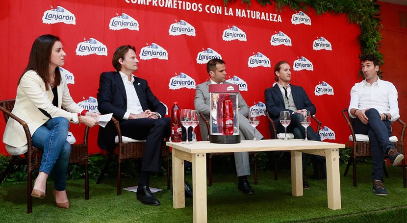Nace RED, botella Lanjarón fabricada 50% PET reciclado y 100% reciclable
