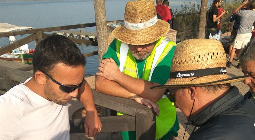 Lanjarón recupera tonelada y media residuos Parc Natural l'Albufera