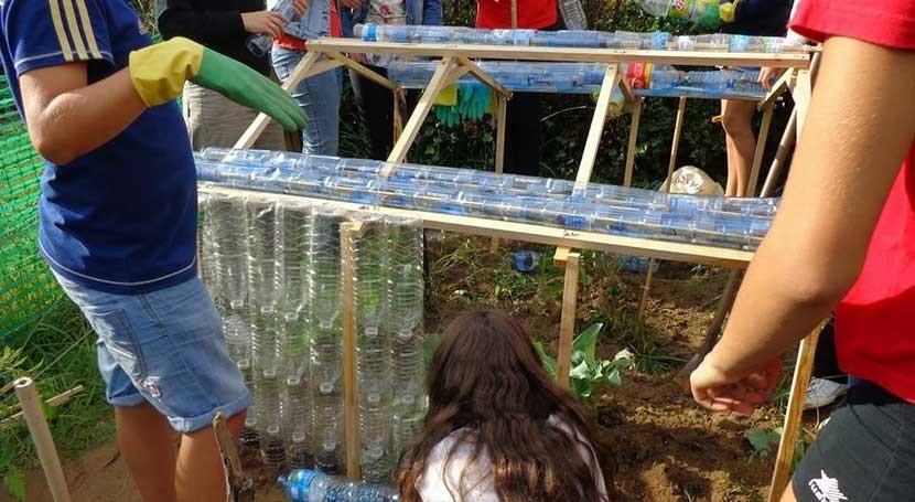 """buenas prácticas ambientales, principal seña identidad colegio """"Divina Pastora"""""""