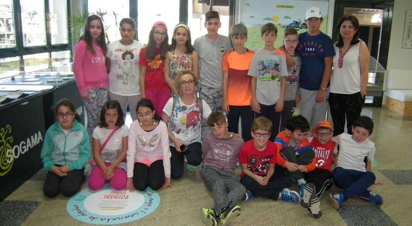 3R guían estrategia educación medioambiental colegio ourensano Vilar Barrio